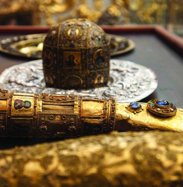 Dio relikvija sv. Vlaha u Moćniku katedrale. Snimka: Institut za povijest umjetnosti (2014.)